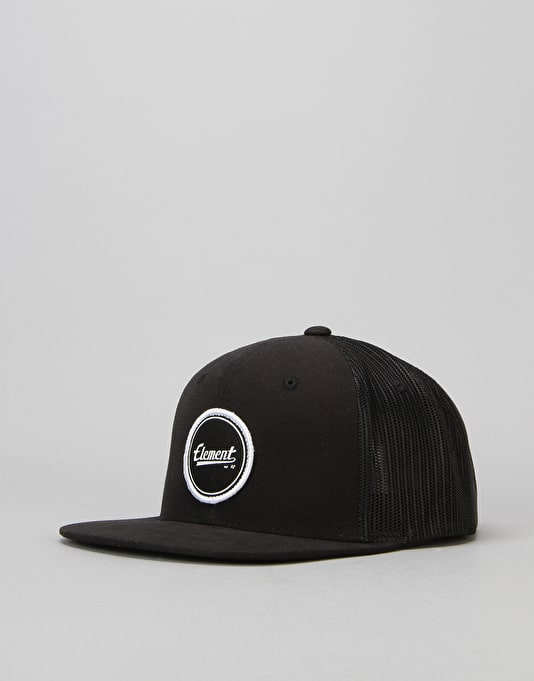 Element Impact Mesh Cap - Flint Black