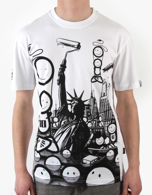 Addict x The London Police Taking Massive Libertys T-Shirt
