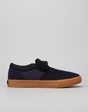 Supra Cuba Skate Shoes - Blue Nights/Black/Gum