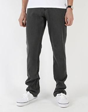 Route One Slim Denim Jeans - Soft Black