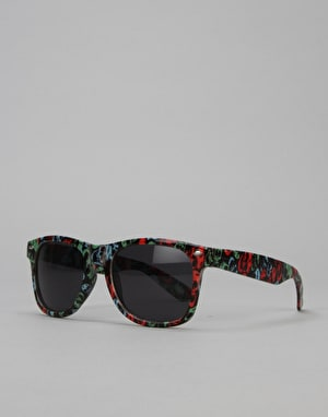 Route One Skulls Wayfarer Sunglasses - Black