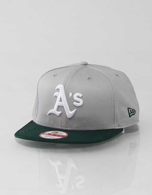 Oakland Athletics Cotton Block New Era Snapback Cap