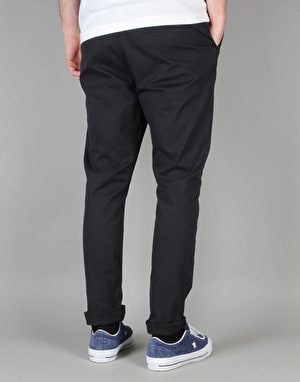 Route One Tapered Fit Chinos - Navy