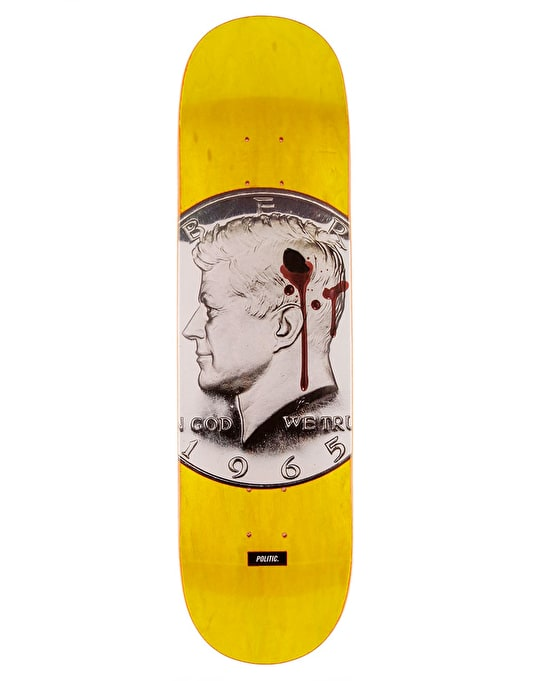 Politic JFK Team Deck - 8.5""