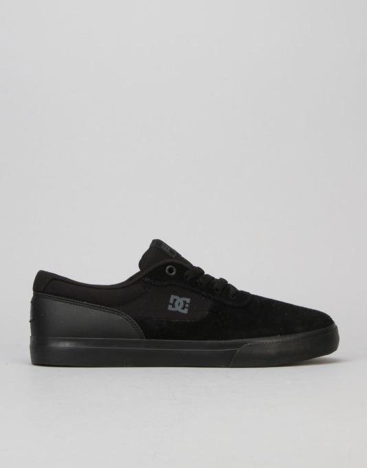 DC Switch S Skate Shoes - Black/Black/Black