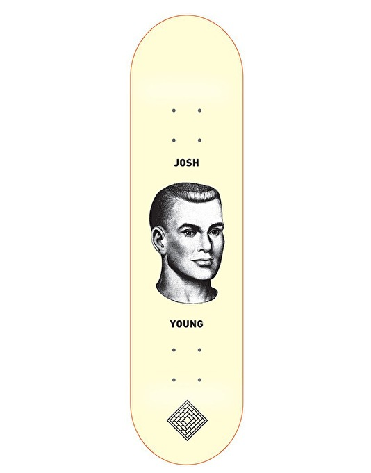 The National Skateboard Co. Young Manhead Pro Deck - 8""