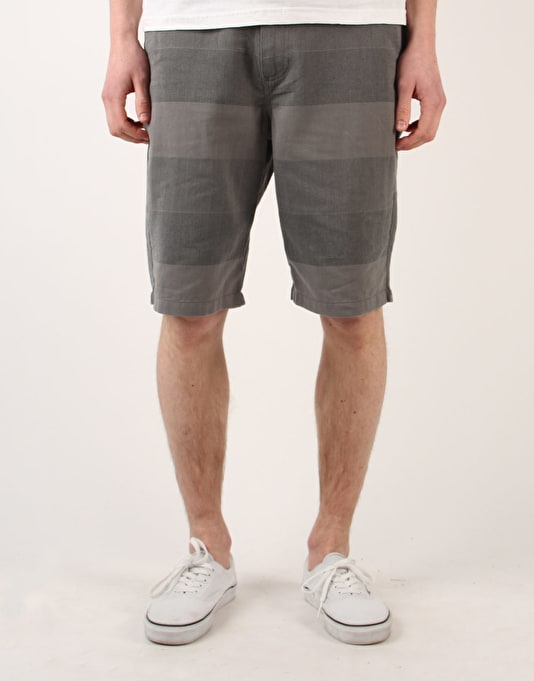 "Vans Dewitt Macro 22"" Chino Shorts - New Charcoal Stripe"