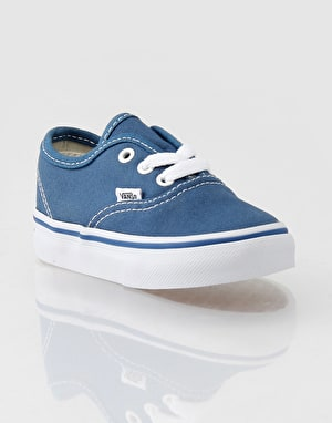 Vans Authentic Toddlers Skate Shoes - Navy
