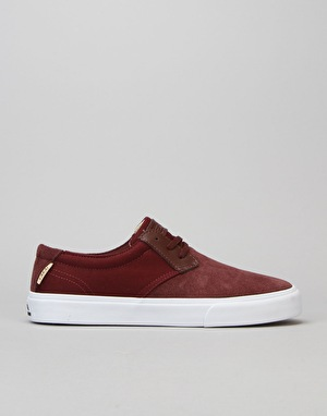 Lakai MJ Skate Shoes - Mahogany Suede