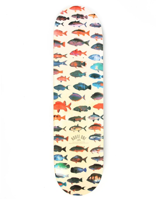 Route One Collectors Series Piscis Deck - 8.125""