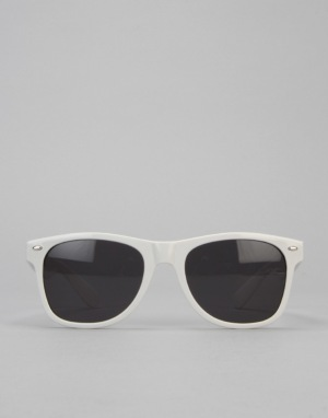 Route One Wayfarer Sunglasses - White