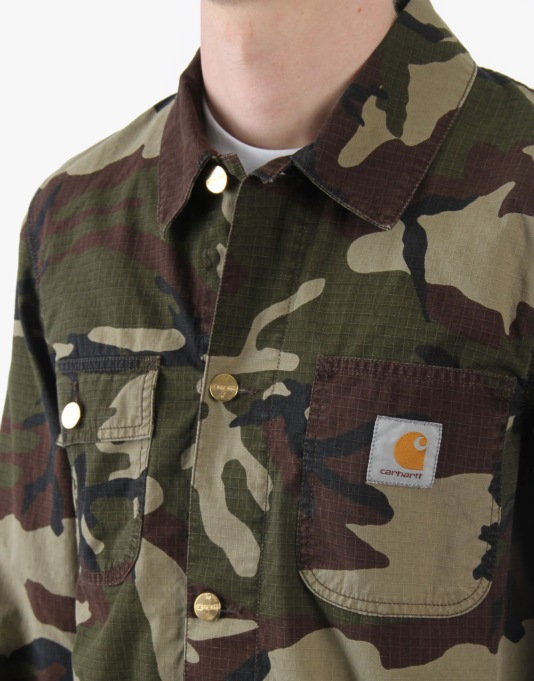 Carhartt Digger Coat Columbia Rips Jacket