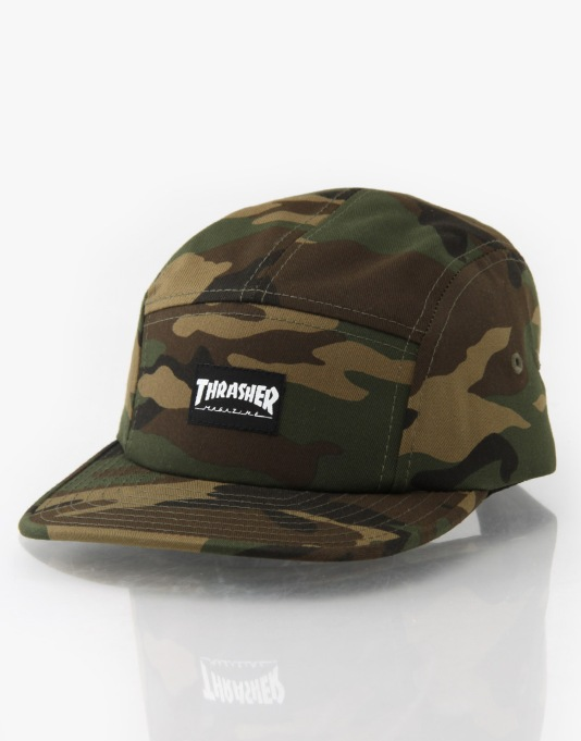 Thrasher Logo 5 Panel Cap