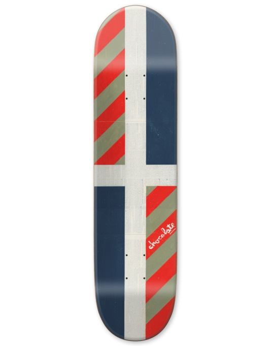 Chocolate Perez Battle Flag Pro Deck - 8.25""