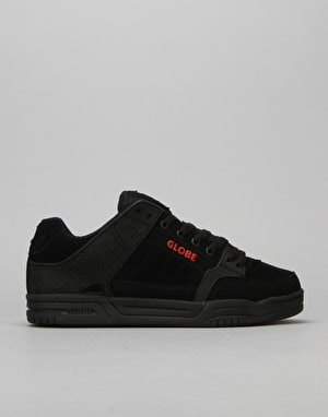 Globe Tilt Skate Shoes - Black/Red