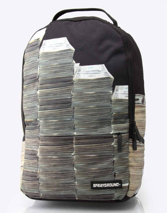 Sprayground Money Stacks Deluxe Backpack