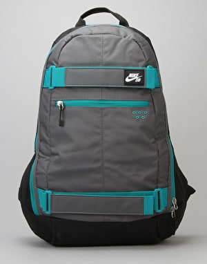 Nike SB Embarca Skatpack - Black/Dark Grey/Rio Teal