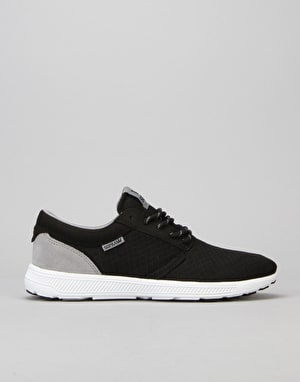 Supra Hammer Run Shoes - Black/Grey/White