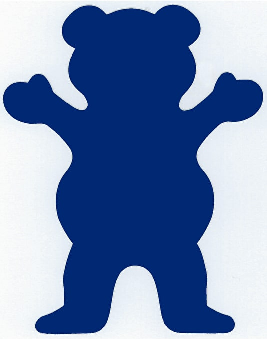 Grizzly Mini Bear Sticker