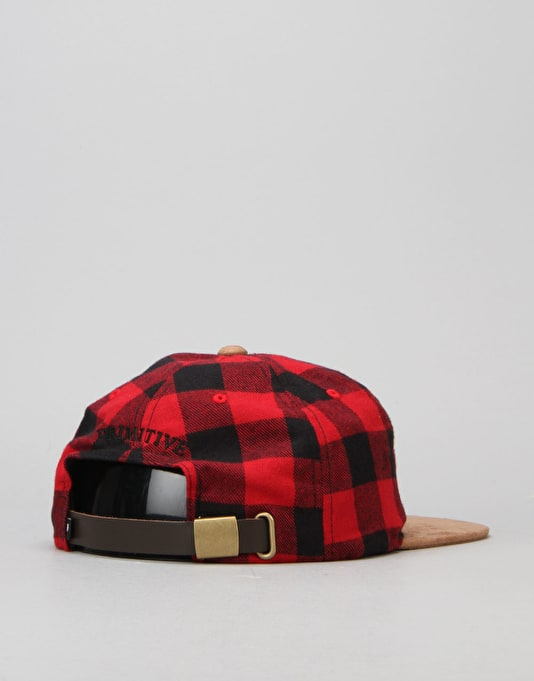 Primitive x Notorious B.I.G Biggie Shades 6 Panel Cap - Red/Black