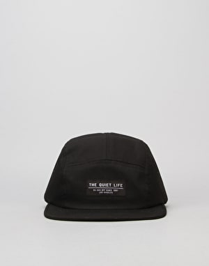 The Quiet Life Foundation 5 Panel Cap - Black
