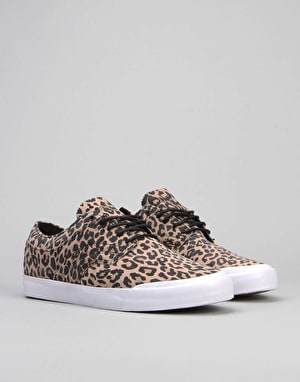 Globe The Taurus (Louie Barletta) Skate Shoes - Leopard/White