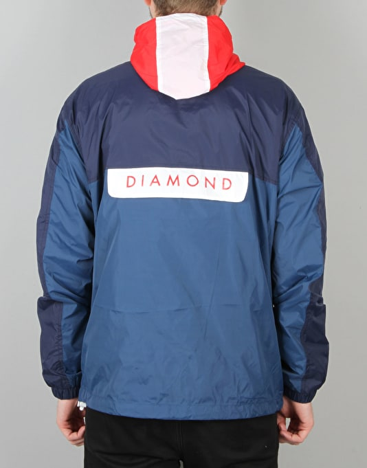 Diamond Supply Co. Yacht Windbreaker - Navy/Royal