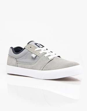 DC Tonik Skate Shoes - Grey/White