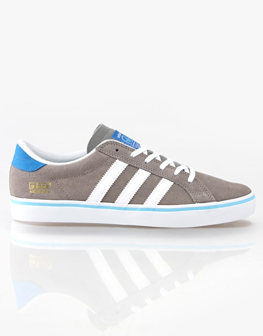 online store a40a3 ad6c4 Adidas Americana Vin Skate Shoes - GreyWhiteBluebird