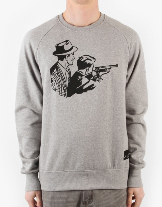 A Thousand Thankyous Gun Crime Sweatshirt