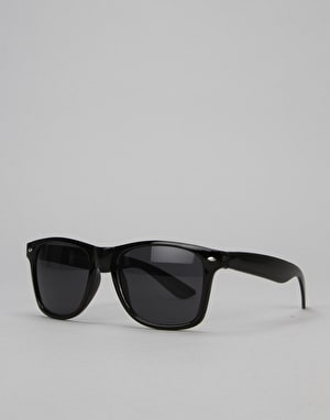 Route One Wayfarer Sunglasses - Black
