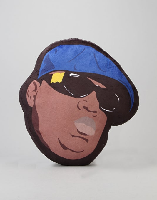 Primitive x Notorious B.I.G Biggie Shades Pillow - Navy/Brown
