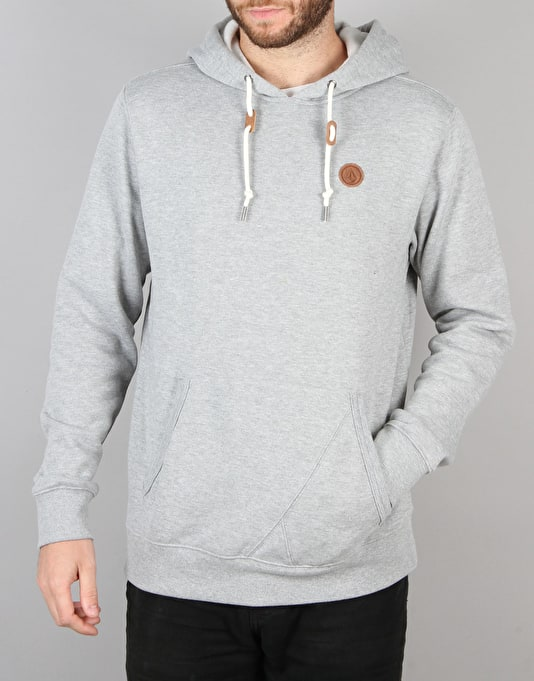 Volcom Single Stone Pullover Hoodie - Heather Grey
