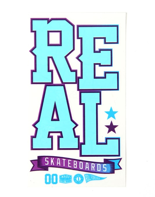 Real UV Blast Sticker