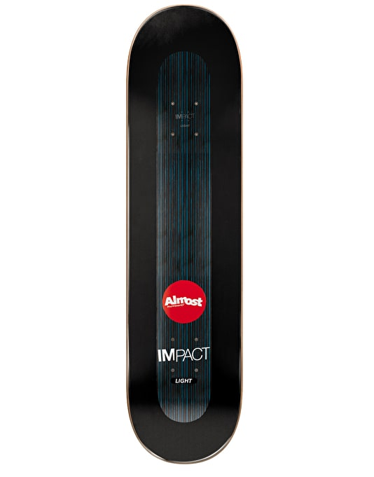 Almost Haslam Neon Power Supply Impact Light Pro Deck - 8.5""