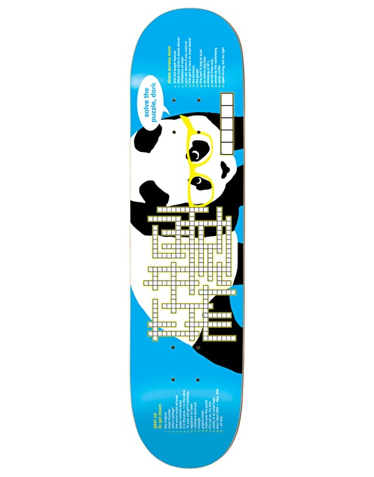 Enjoi Crossword Team Deck - 8.25""