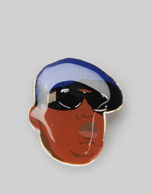 Primitive x Notorious B.I.G Biggie Shades Lapel Pin - Multi