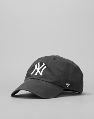'47 Brand MLB New York Yankees Clean Up Cap - Charcoal