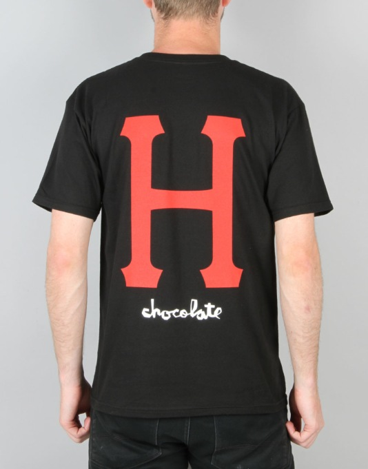 HUF x Chocolate Classic H T-Shirt - Black