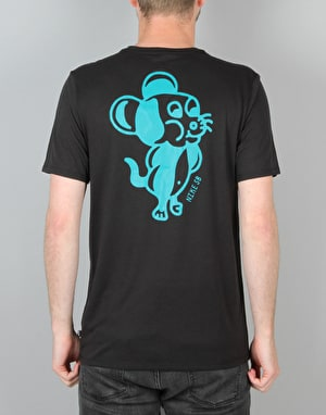 Nike SB Mouse T-Shirt - Black/Black/Rio Teal