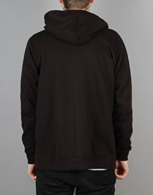 Route One Basic Zip Hoodie - Black