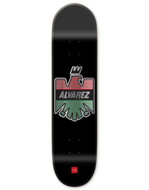 Chocolate Alvarez Eagle Pro Deck - 8.25
