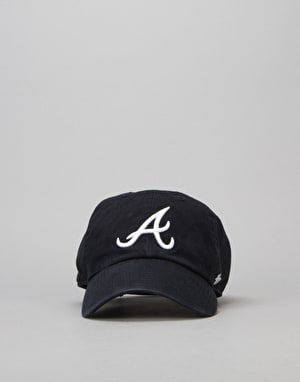 '47 Brand MLB Atlanta Braves Clean Up Cap - Navy