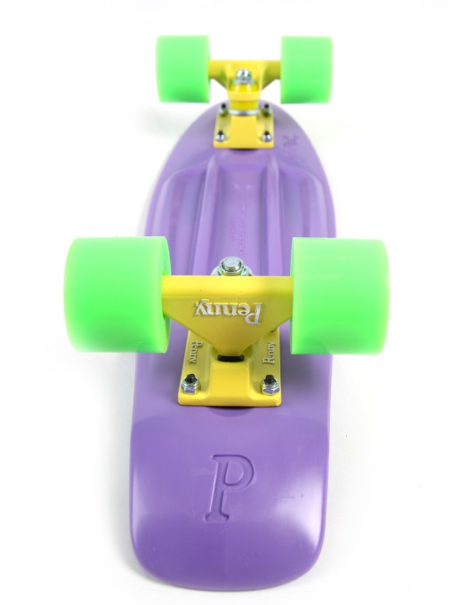 "Penny Skateboards Classic Cruiser - 22"" - Purple/Yellow/Green"
