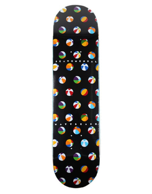 Skate Mental Beach Beach Ball Pro Deck - 8""