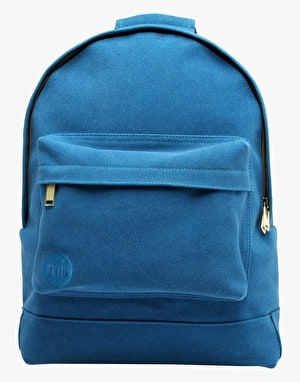 Mi-Pac Suede Backpack - Petrol Blue