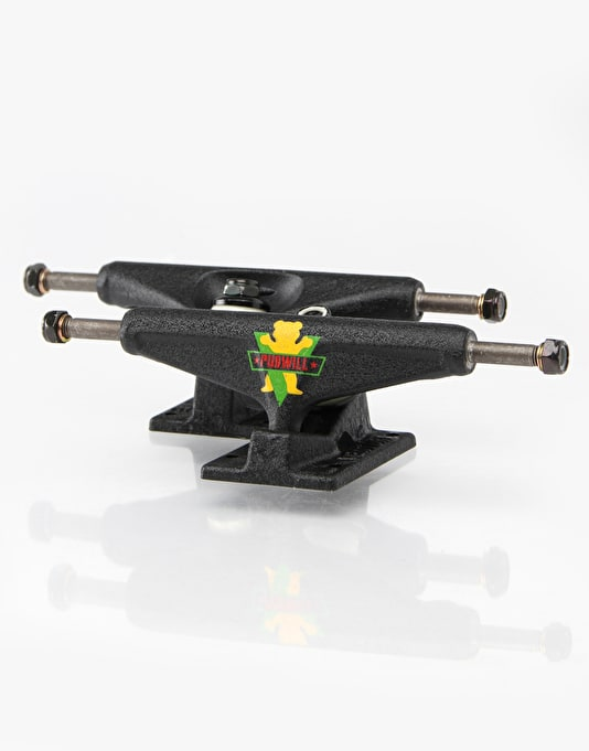 Venture x Grizzly Pudwill 2 5.25 Low Pro Trucks - Black