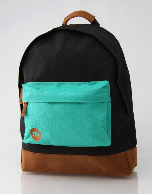Mi-Pac Tonal Backpack - Black/Teal