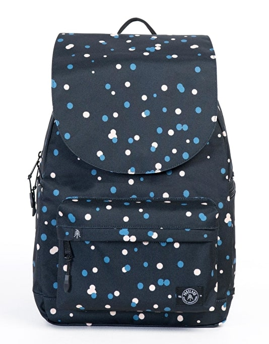Parkland Rushmore Backpack - Black Polka Drops