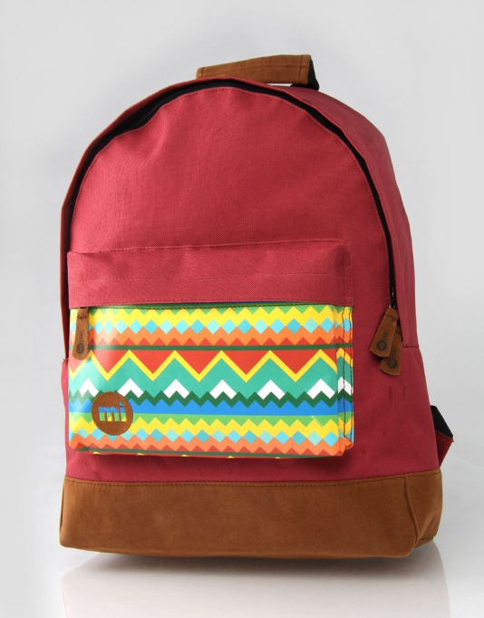 Mi-Pac Navajo Backpack - American Red